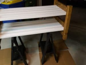 DIY, Outdoor Garden Bench, Farmhouse, - finish sealing