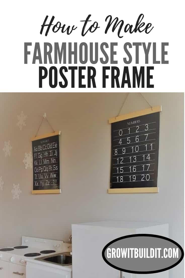 Farmhouse style Poster Frame