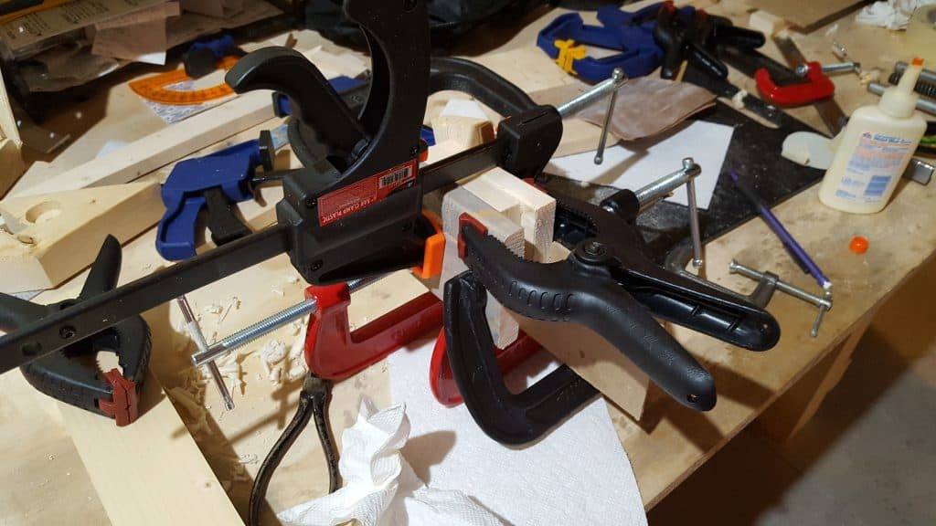 Crazy Glue up clamps