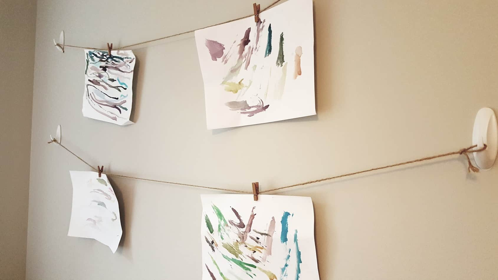 Playroom Inspiration artwork display