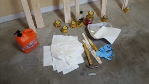 Staining materials