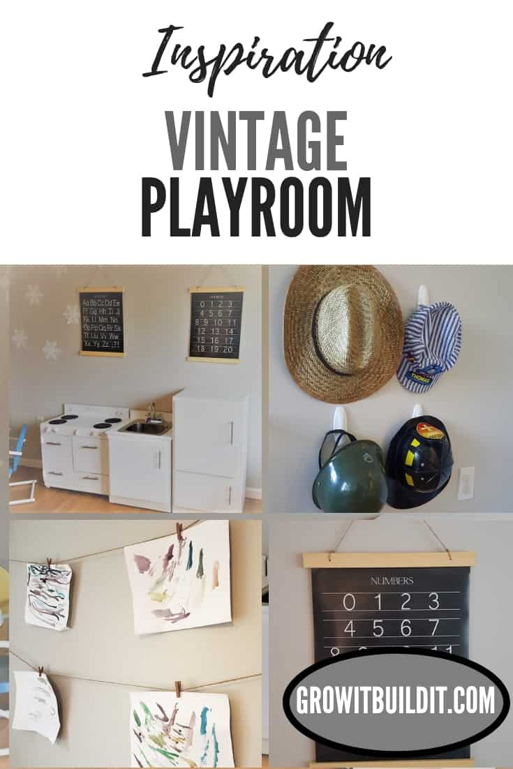 Playroom Inspiration Vintage Farmhouse Style