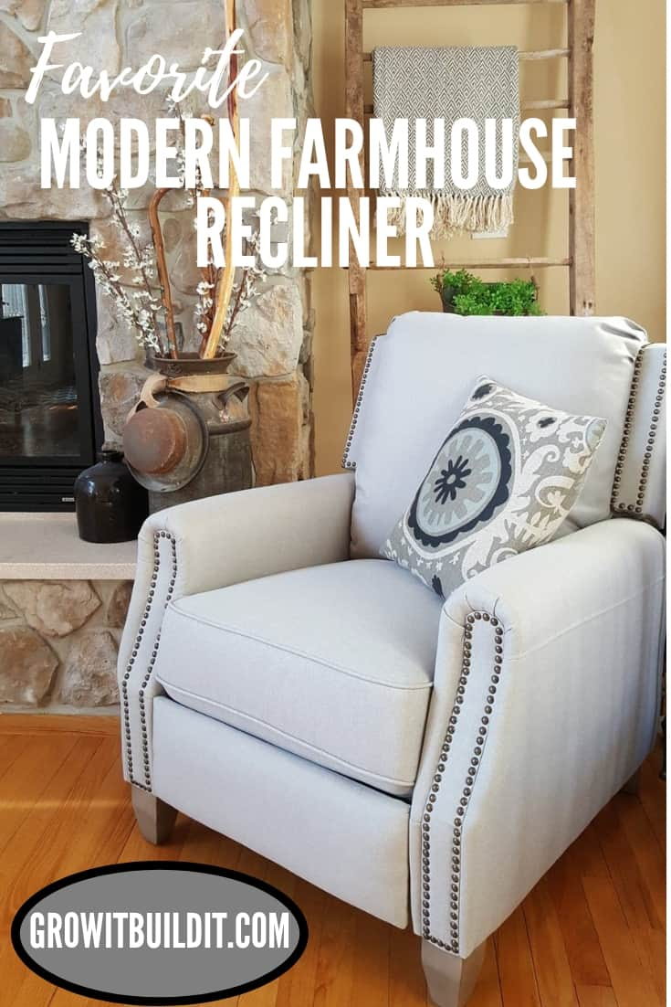 Favorite Modern Farmhouse Recliner