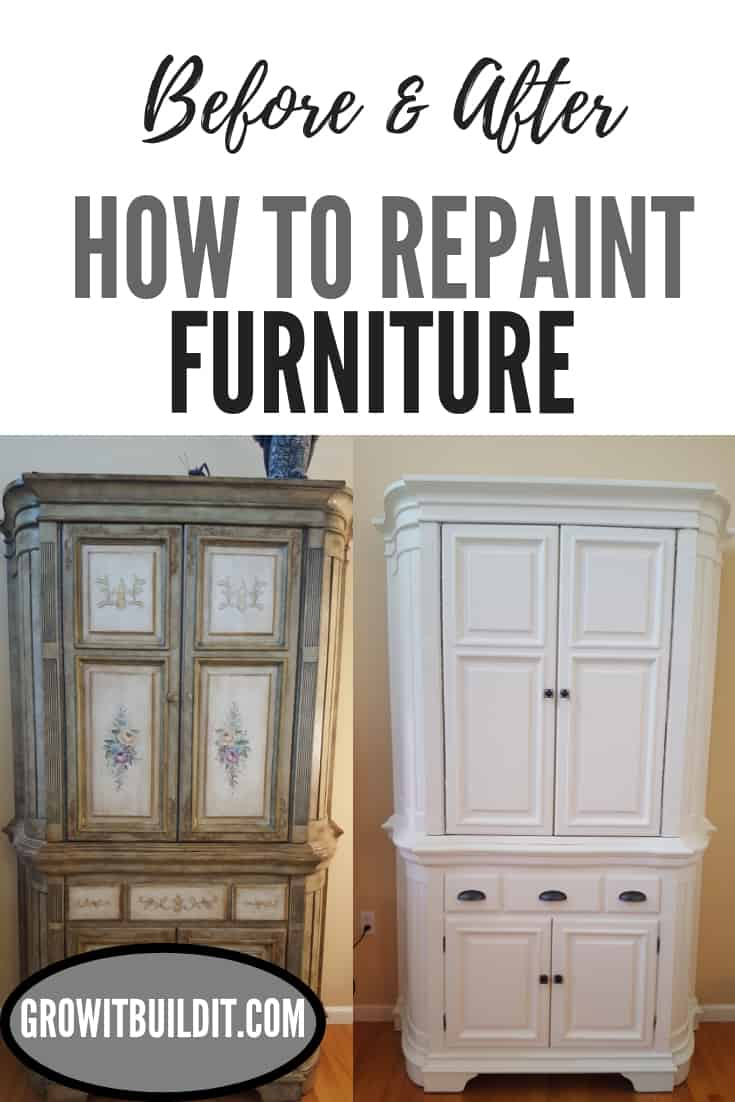 How to Repaint Furniture Before and After Primer