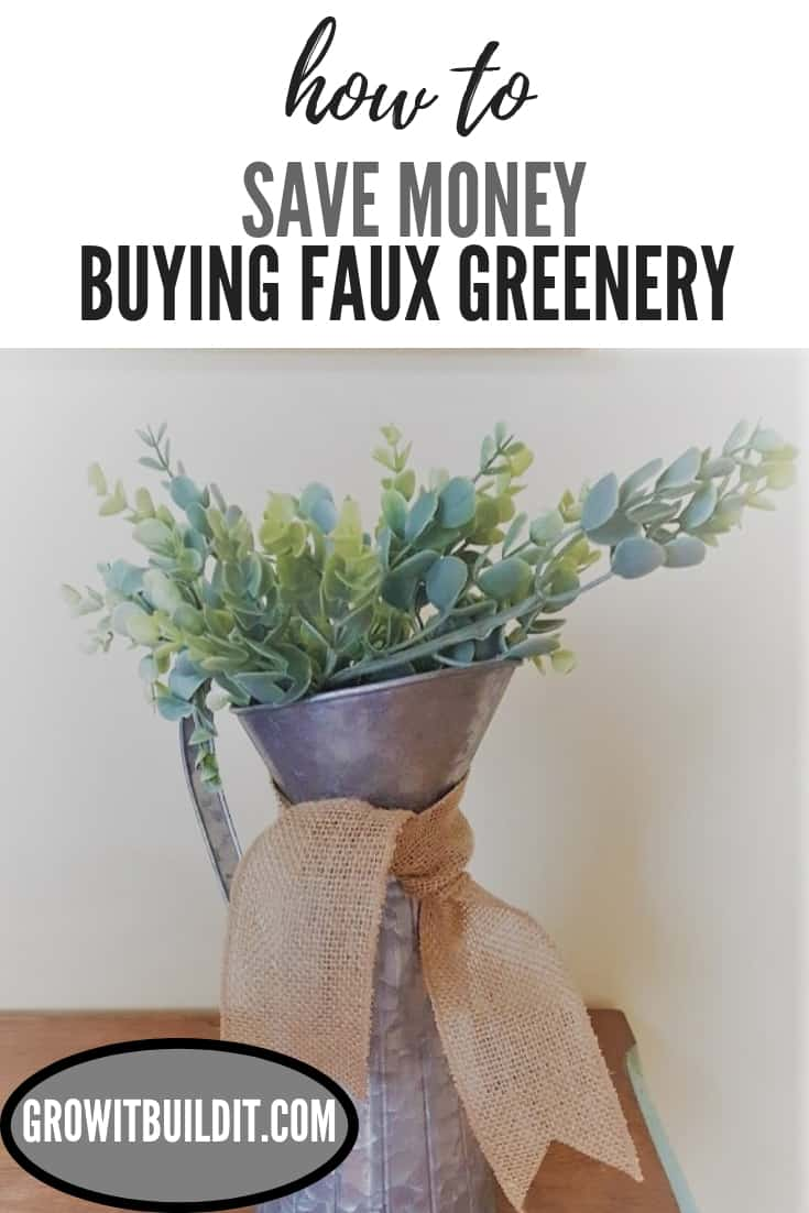 How to Save Money when Buying Faux Greenery