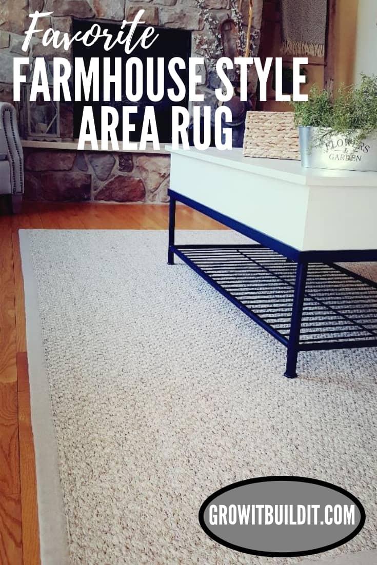 favorite modern farmhouse area rug