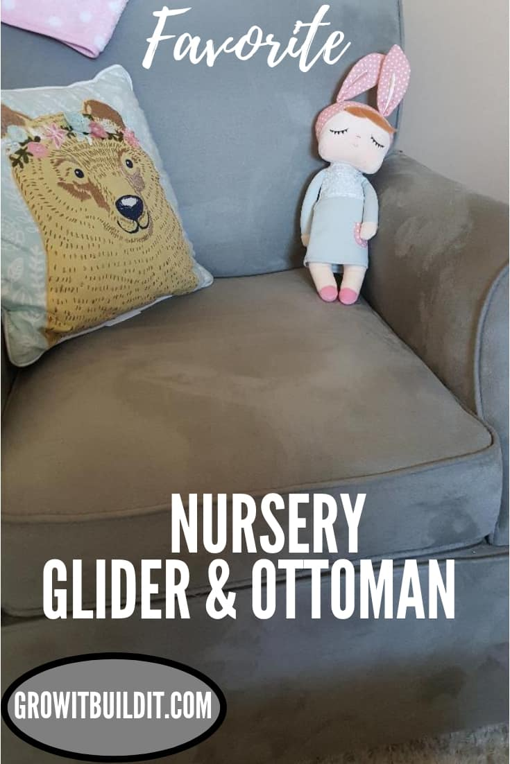 favorite nursery glider