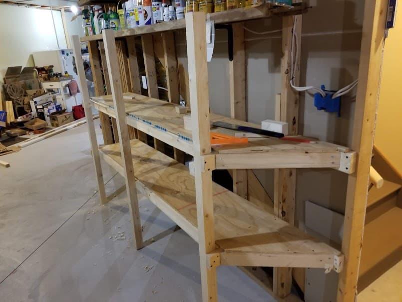 shelves complete!