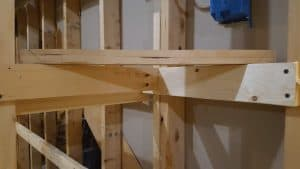 test fit angle brace