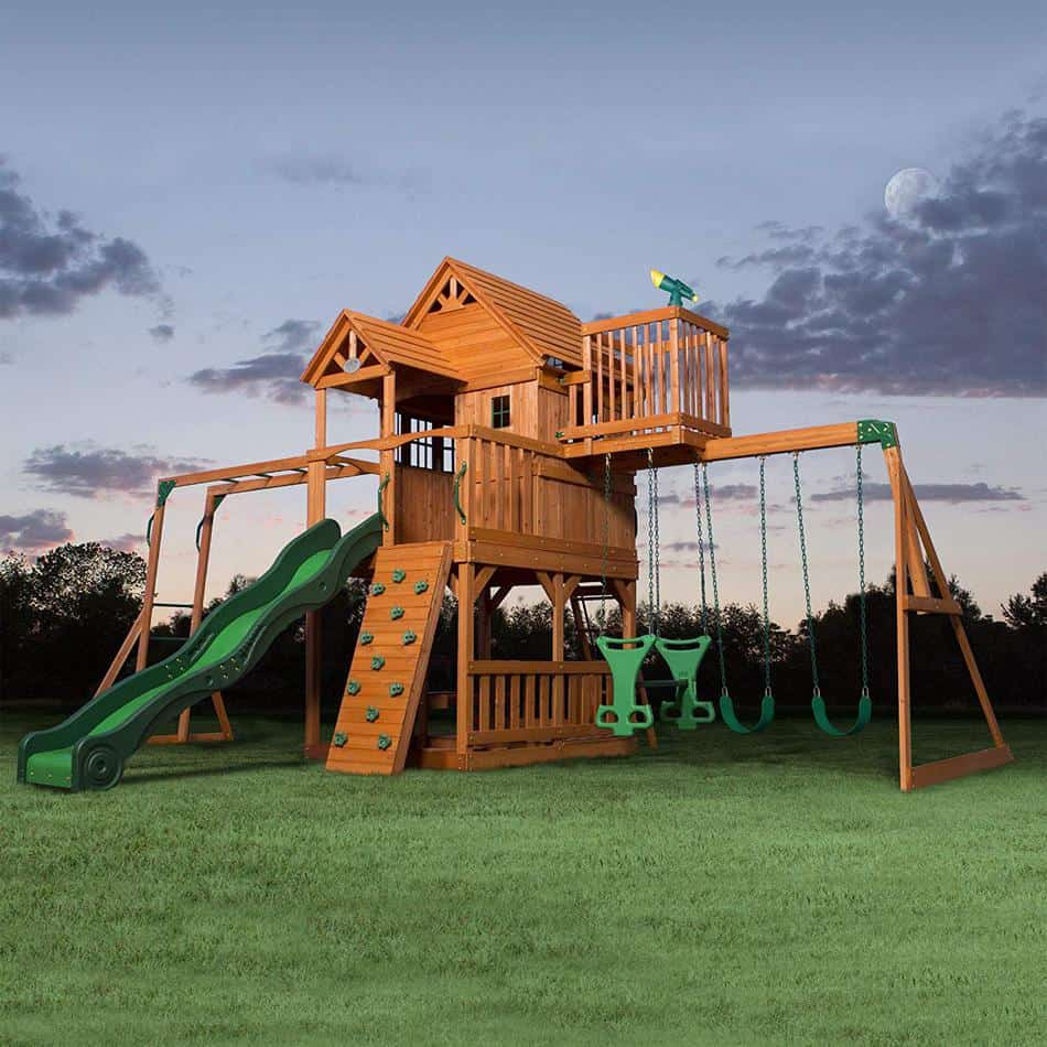 Favorite Playset - Backyard Discovery Skyfort II
