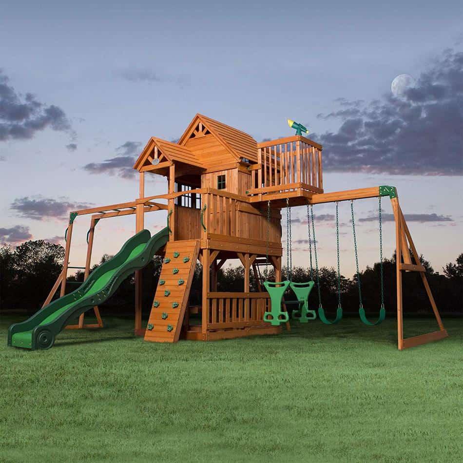 Favorite Playset - Backyard Discovery Skyfort II
