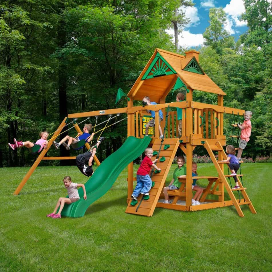 Favorite Playset - Chateau Cedar Play Set