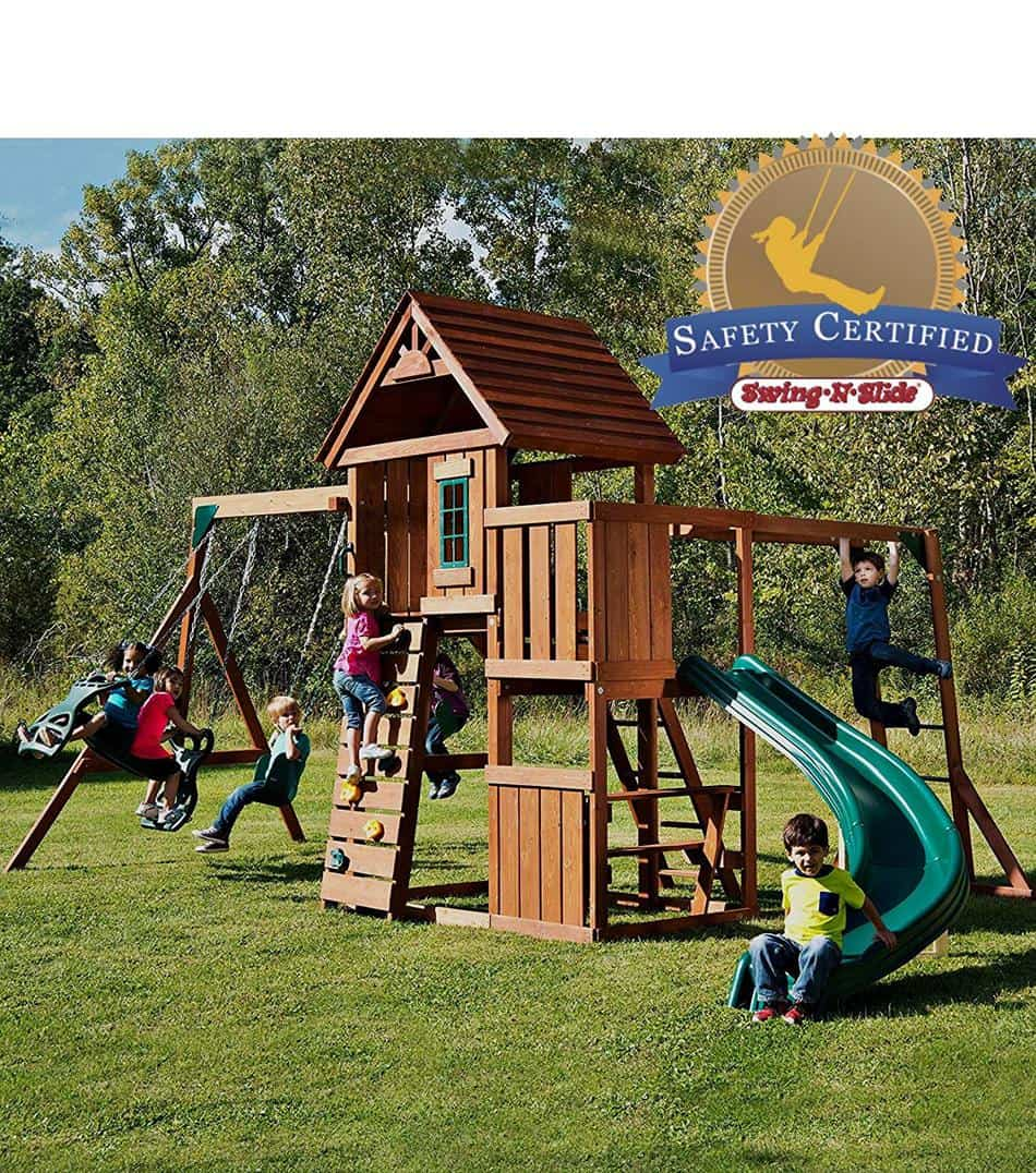 Favorite Playset Under $1,000 - Swing-N-Slide PB 8272 Cedar Brook