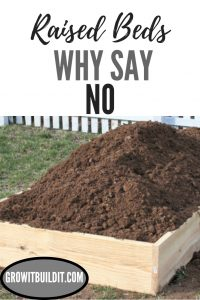 Raised Bed Gardens - Why Say No