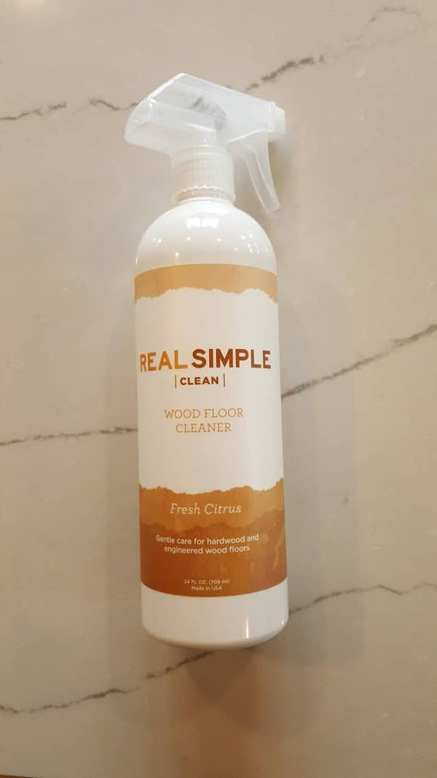 Real Simple Wood Floor Cleaner