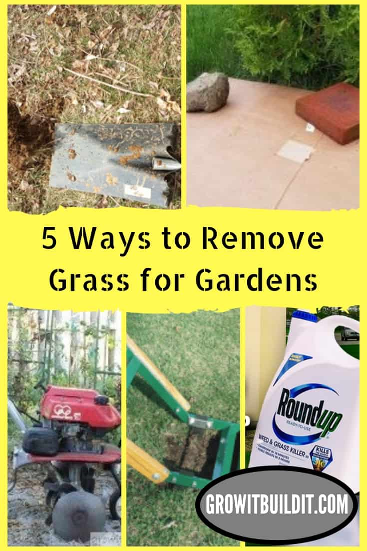 5 Ways to Remove Sod for Gardens & Flowerbeds