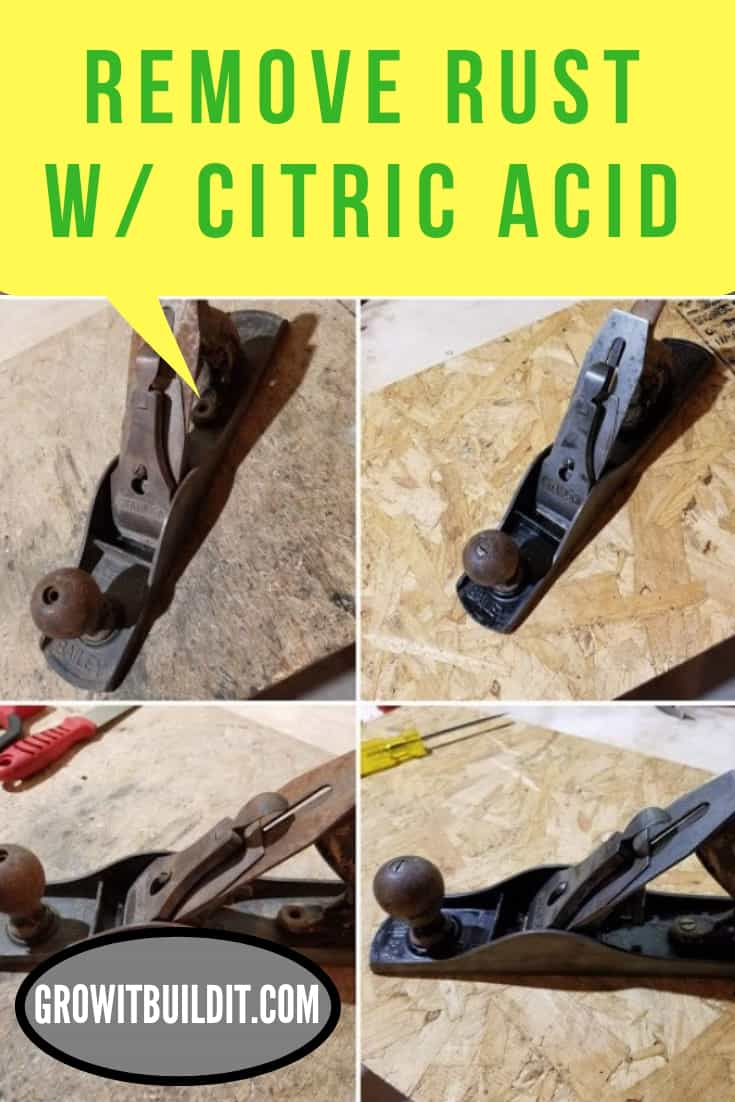 Guide to Remove Rust w Citric Acid