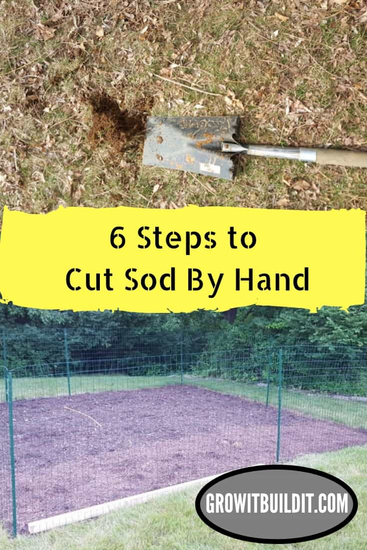 Illustrated Guide to Cut Sod by Hand in 6 Easy Steps