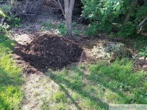 dual compost pile system