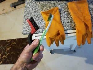 rust scrubbing tools