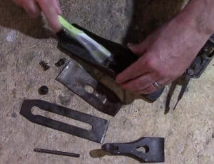 scrub parts with wd40