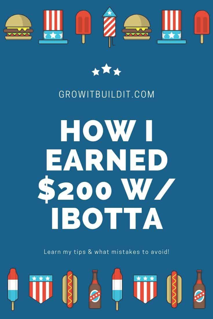 How I Earned $200 w Ibotta