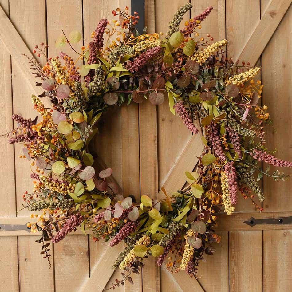 fall wreath amazon
