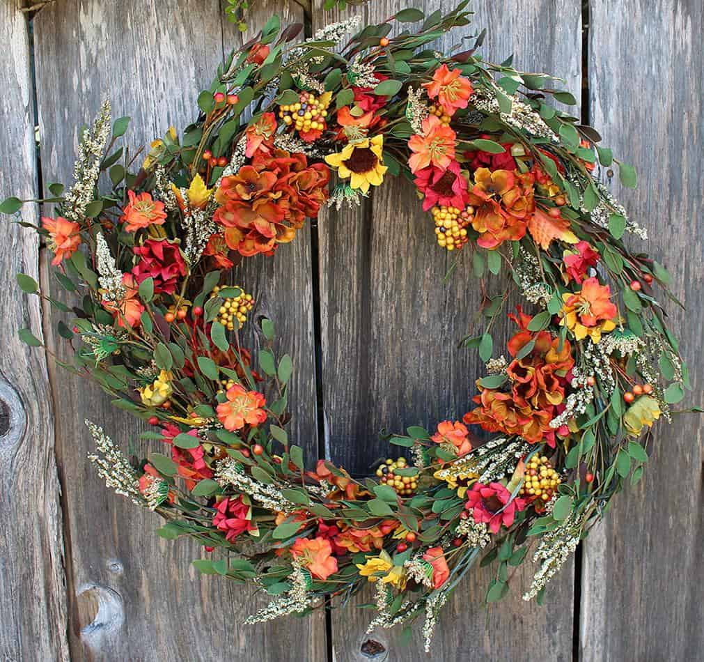 fall wreath amazon