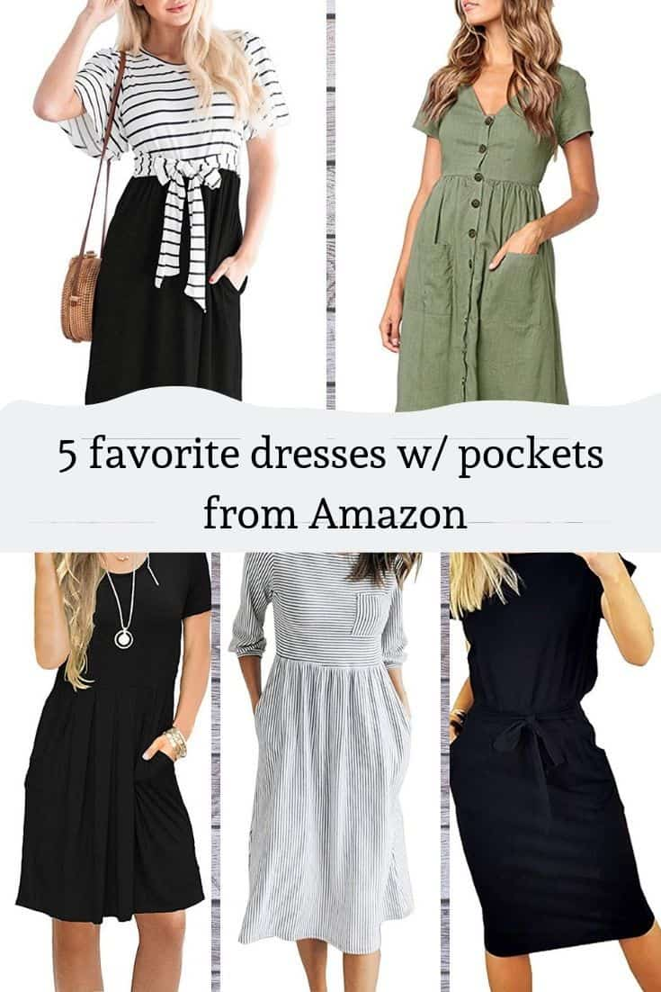 Best Dresses with pockets from Amazon