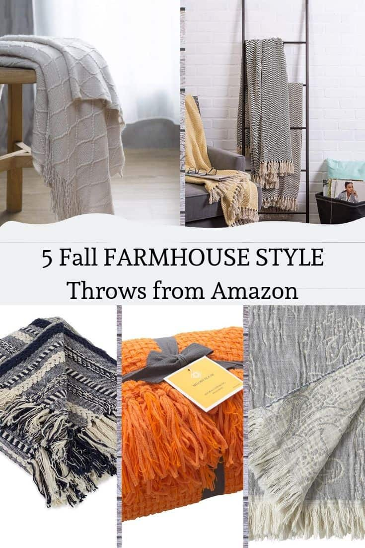 Fall Throw Blankets from Amazon