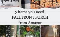 5 items you need for your Fall front porch from Amazon