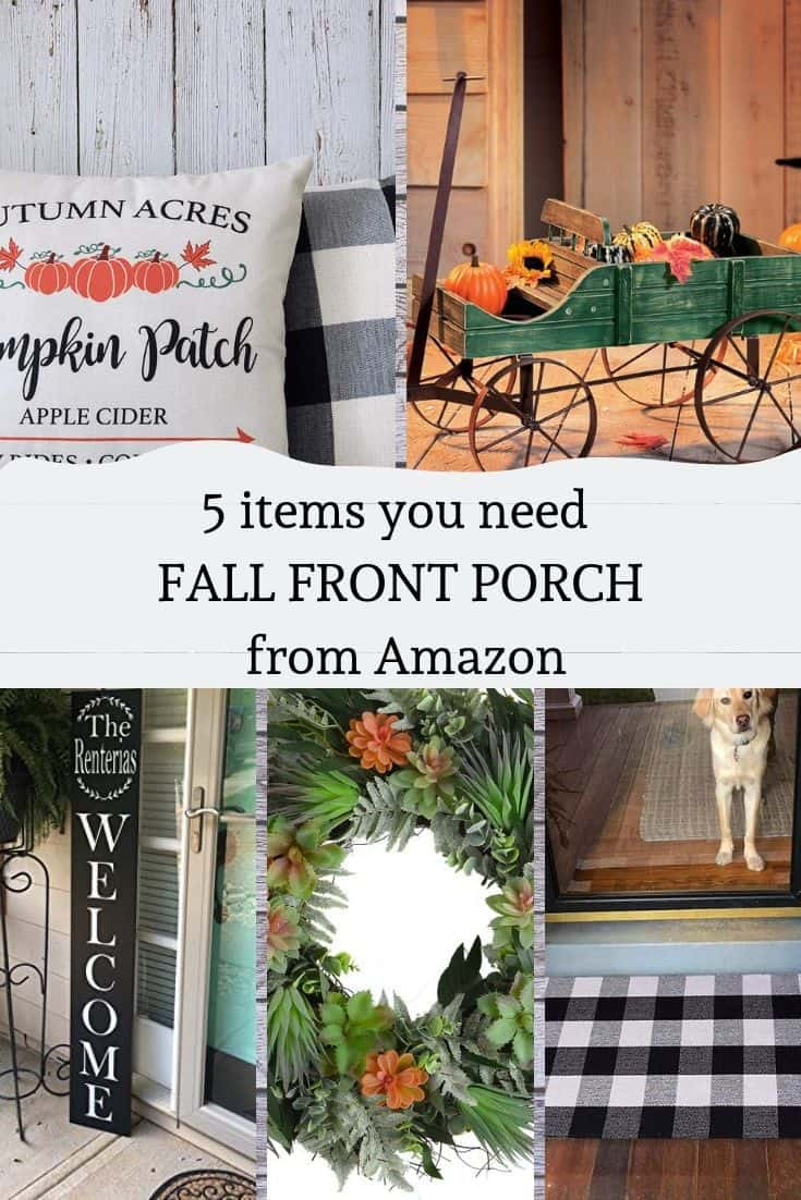 5 items you need to decorate your front porch from Amazon