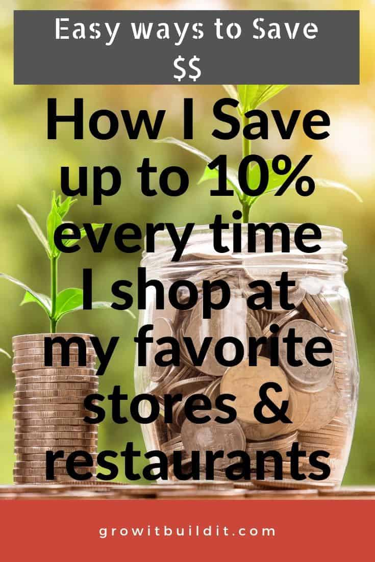 How to Save Money Shopping at Your Favorite Stores & Restaurants