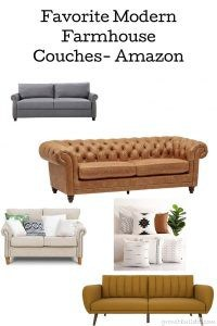 Modern Farmhouse Couches Amazon