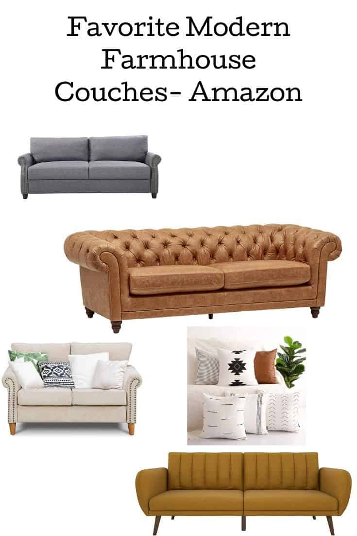 Modern Farmhouse Couches Amazon