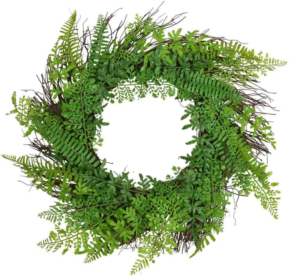 20 in Faux Fern Wreath