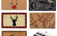 Winter and Christmas Doormats