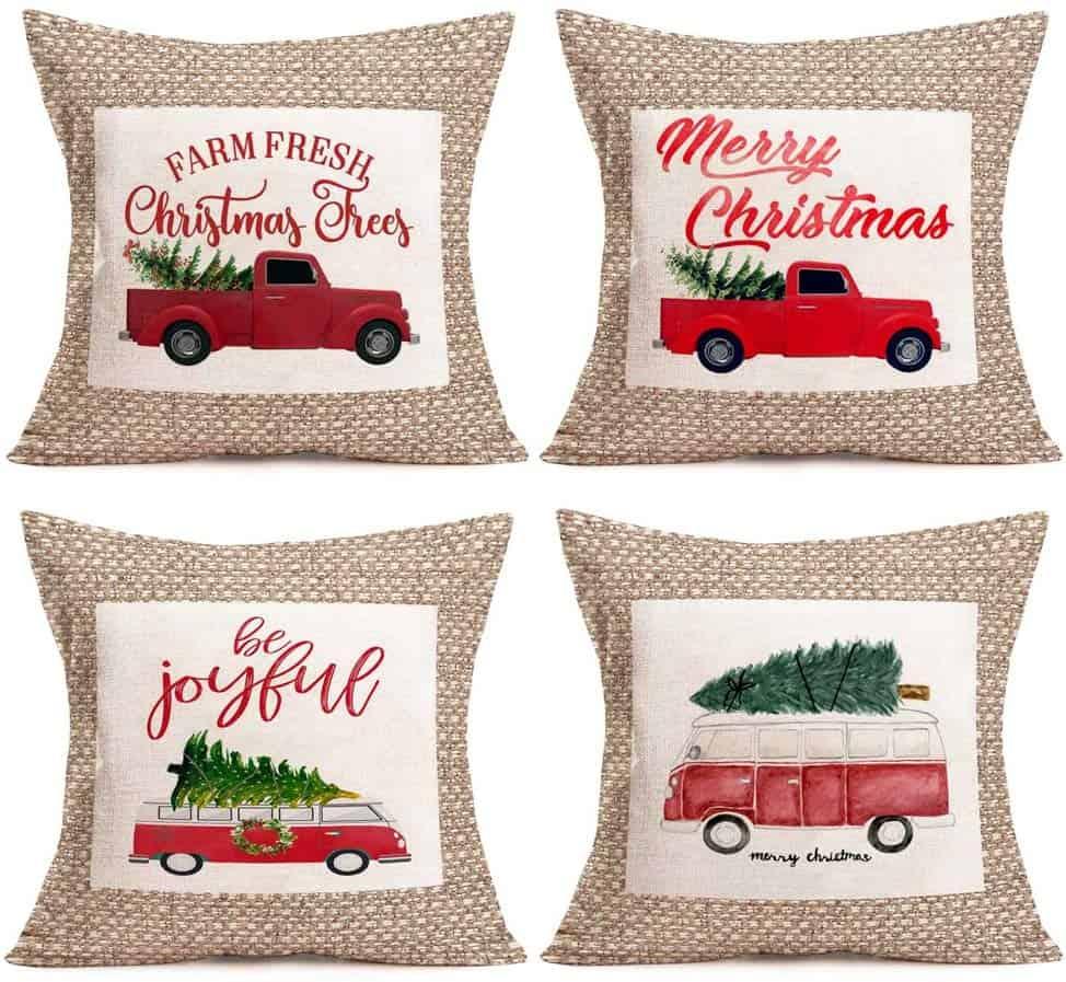 Christmas Pillow Covers Amazon