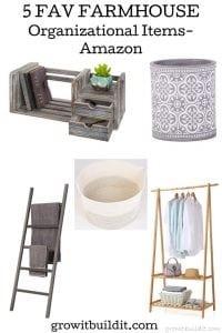 fav farmhouse organizational items