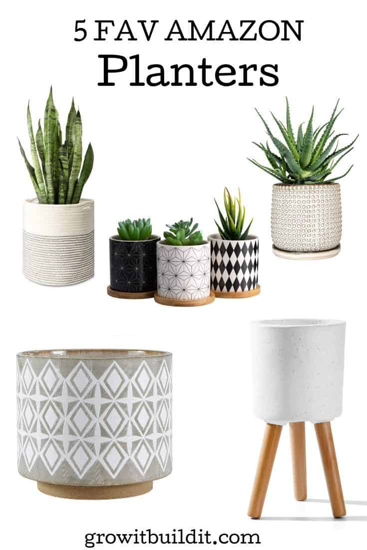 Planters from Amazon