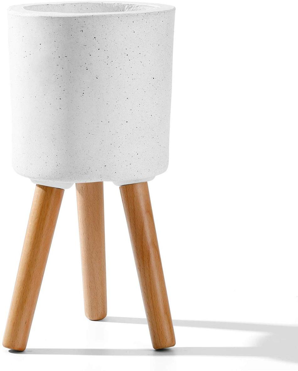 Fiberglass Standing Planter 14.6 in