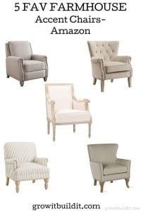 fav farmhouse accent chairs