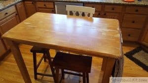 How to attach a Granite Top to a Wooden Table   GrowIt BuildIT