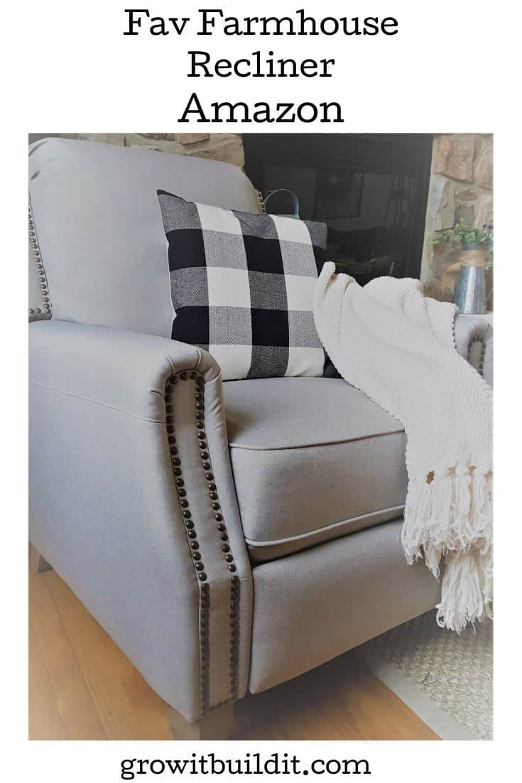 fav farmhouse chair recliner