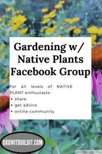 gardening with native plants facebook group